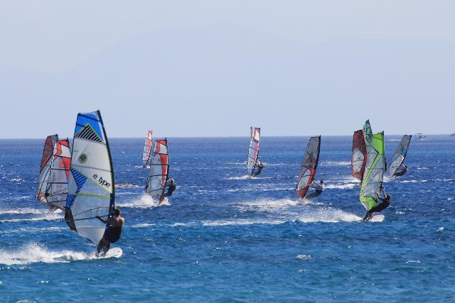 Surf experiences among greek islands