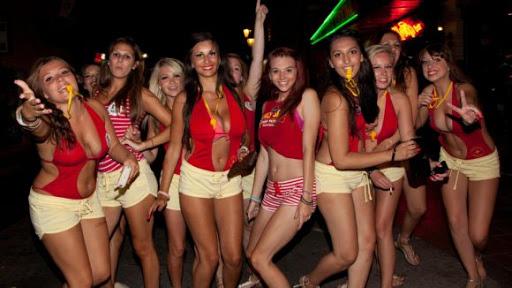 Crete Malia party